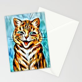 """Louis Wain's Cats """"Winking Cats"""" Stationery Cards"""