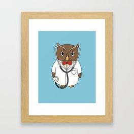 Dr. Hoo Framed Art Print