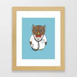 Dr. Hoo Framed Art Print
