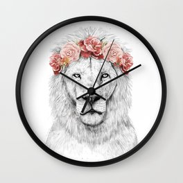 Festival lion Wall Clock