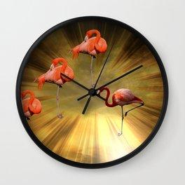 Flamingo Theatre Wall Clock