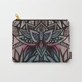 Lottus flowers and mandalas Carry-All Pouch