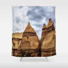 Kasha Peaks Shower Curtain