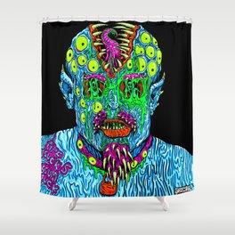 Punk Monster Shower Curtain