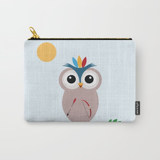 Be brave with owl Carry-All Pouch