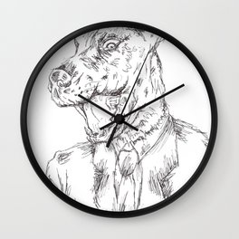 Unleashed 2 Wall Clock