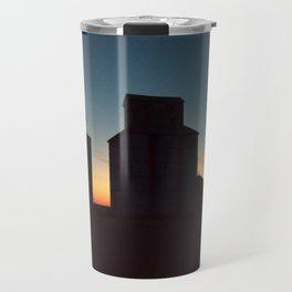 Silos at Sunrise Travel Mug