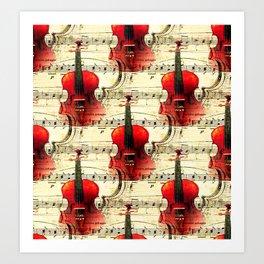 Violin Concerto Art Print