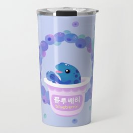 Blueberry poison yogurt 2 Travel Mug