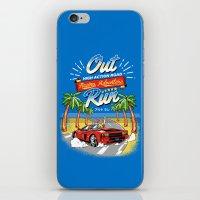 racing iPhone & iPod Skins featuring Racing Adventure by MeleeNinja