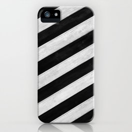 Wood lines iPhone Case
