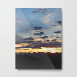 Sunset Metal Print