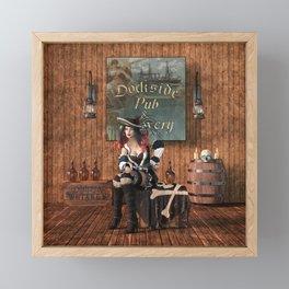 Guarding the Loot Framed Mini Art Print
