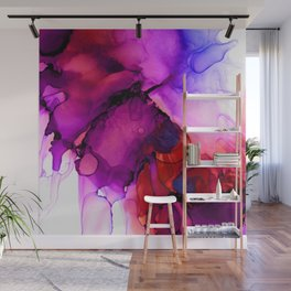 Red madness Wall Mural