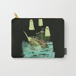ghost pirate boat Carry-All Pouch