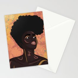 Asase Yaa, The Earth Goddess of Fertility Stationery Cards