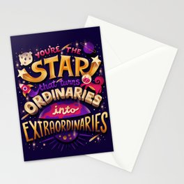 You're the Star Stationery Cards