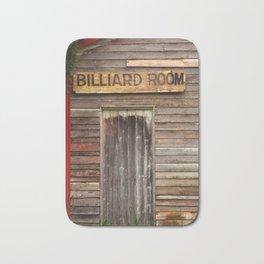 Billiard Room Bath Mat