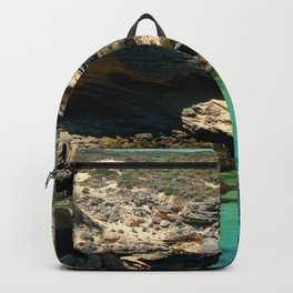 The small cliffs of rottnest island Backpack