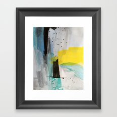 Misty Sunny Morning Framed Art Print