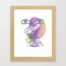 double vision Framed Art Print