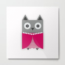 Pretty owl Metal Print