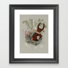 One man's trash - New Wheels Framed Art Print