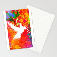Hummingsplat - Colorless Stationery Cards