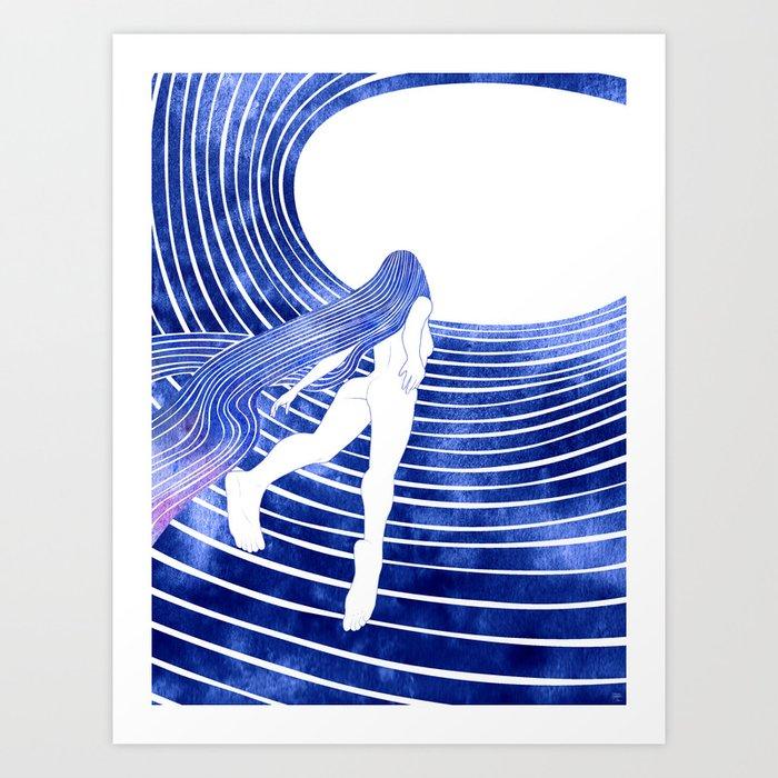 Menippe Art Print