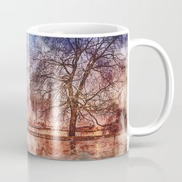 Socitey6 Water-color painting- CN tower Coffee Mug
