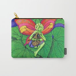 Fairy and Bee Carry-All Pouch