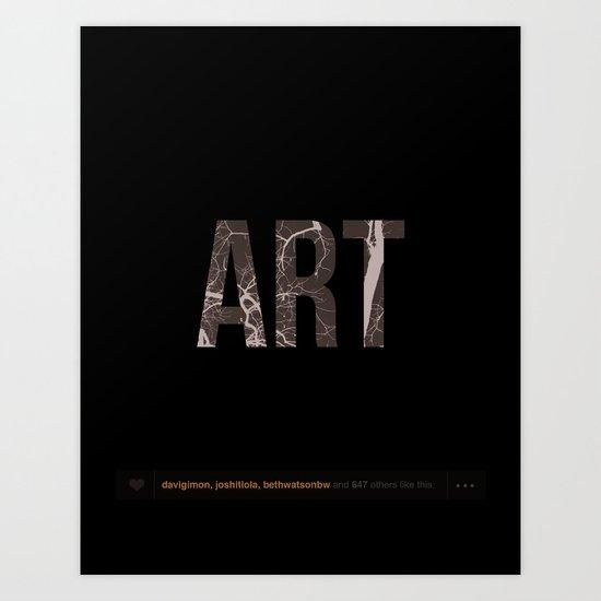 Nature is Art Art Print