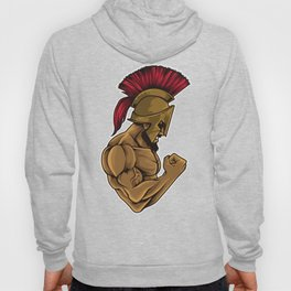 Spartan At The Gym | Training Fitness Muscles Power Hoody