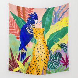 New Friends Wall Tapestry