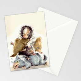 Niffler babies Stationery Cards
