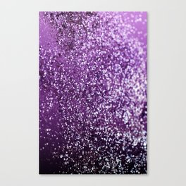 Purple Glitter #1 #decor #art #society6 Canvas Print