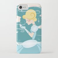 cinderella iPhone & iPod Cases featuring Cinderella by LindseyCowley