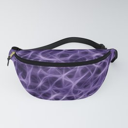 Camouflage Psychedelic Blue Fanny Pack