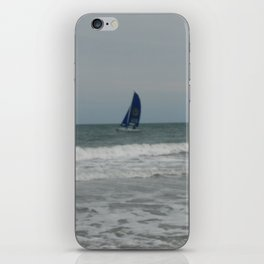 Great day for sailing! iPhone Skin