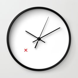 Relationship Status Sorry I have Rehearsal T-Shirt Wall Clock