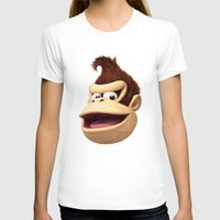 donkey kong T-shirts featuring Triangles Video Games Heroes - Donkey Kong by s2lart