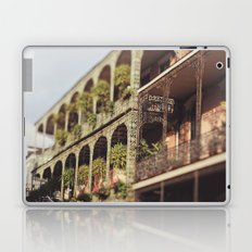 New Orleans Royal Street Balconies Laptop & iPad Skin