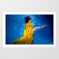 Lemonade Dreams Art Print