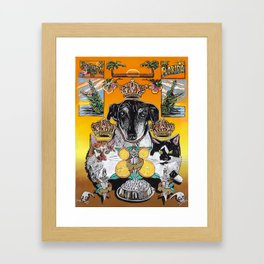 Sunshine State Pets Framed Art Print