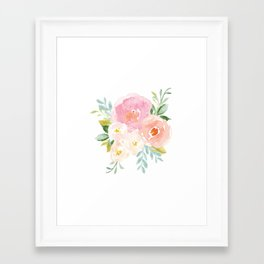 Floral 02 Framed Art Print