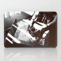 cigarettes iPad Cases featuring Coffee and Cigarettes  by Deniz Kantürk