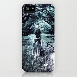 A scary unknown by GEN Z iPhone Case