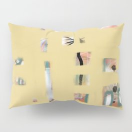 Yellow Paranoia Pillow Sham