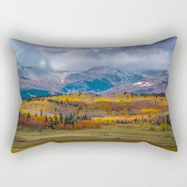 Fall in the Rockies Rectangular Pillow