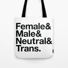 All Equal Genders Tote Bag